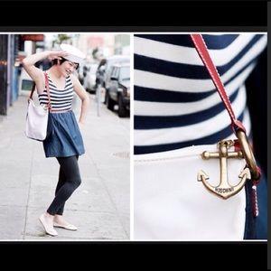 Authentic RARE Moschino Anchor Nautical Bag