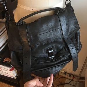 Black proenza schouler PS1 bag