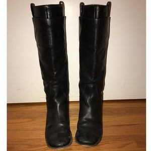 Frye Paige Tall Riding Boots - Black