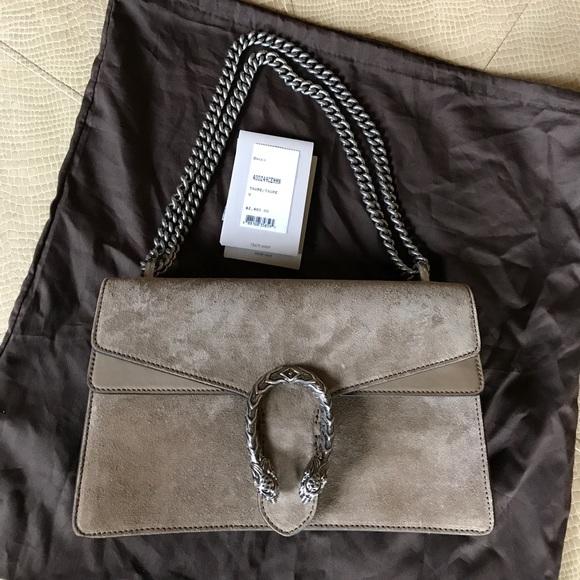 4cc6666f0 Gucci Bags | Dionysus Suede Bag | Poshmark