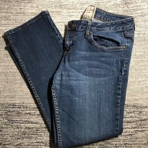 American Rag Straight Leg Distressed Jeans 13S