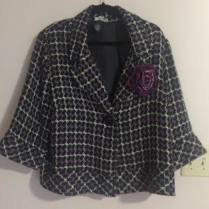 Purple Blazer $15
