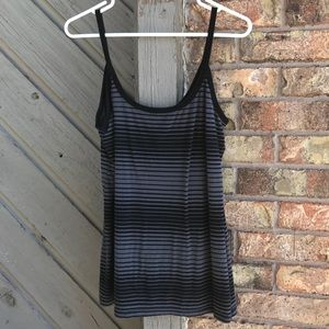 (2 for $15) Black n Gray Tank Top