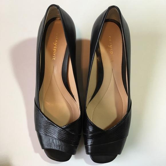 easy spirit open toe shoes