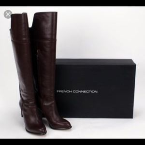 French Connection LeatherBoots