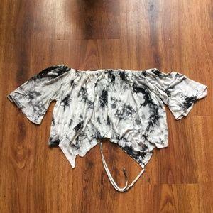 Tops - FREE W BUNDLE Tie Dye Back Detail Top