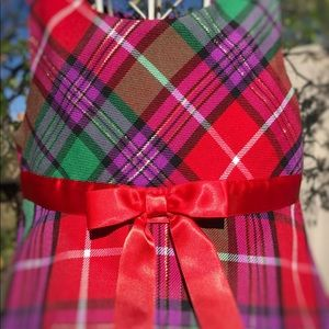 Other - Ashley Ann Toddler Plaid Holiday Dress