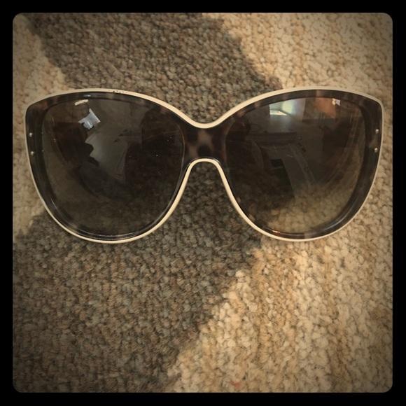 efdba9a0791c Christian Dior Accessories - Christian Dior Leopard Sunglasses