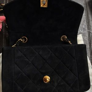 CHANEL - Coco Chanel (quilted vintage) velvet purse from Ana's ... : coco chanel quilted handbag - Adamdwight.com