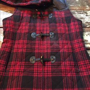 Adorable Pendleton Plaid Vest! Small