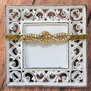 Other - Boutique Baby Girl Gold Keepsake Headband