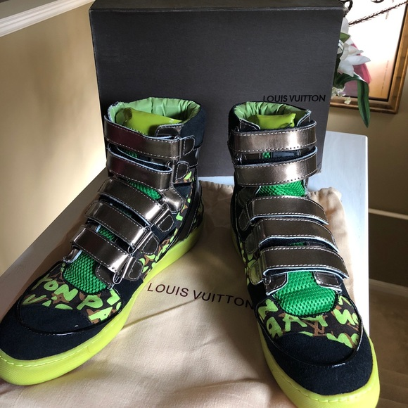 156f00b70be Louis Vuitton Stephen Sprouse Graffiti Sneakers