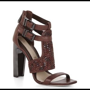 Max Azria for BCBG Brown leather heels
