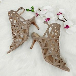 Vince Camuto size 9.5 caged heels