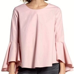 BLUSH Bell sleeve Top - Size S