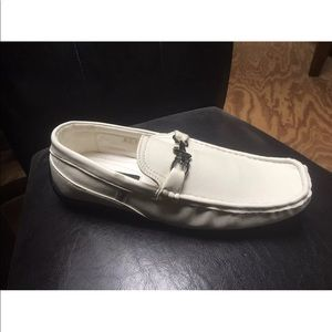 Other - New Men's ivory faux leather loafers/dress shoe
