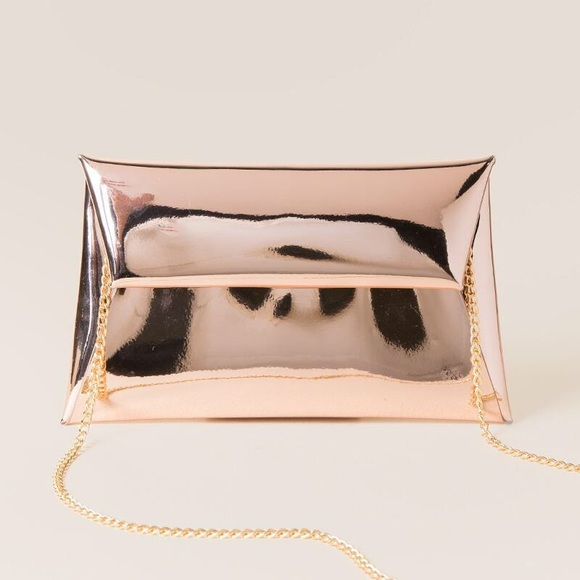 MMS Design Studio Handbags - Mirrored Metallic Crossbody