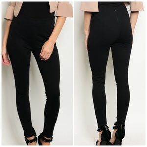 Pants - Black High waisted Pants