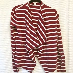 J.CREW Gathered open tiered top