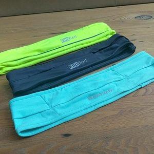 Accessories - Set of 3 - flipbelt running belt size medium