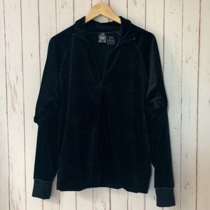 Other - SR7 Velour Track Suit Jacket - Black