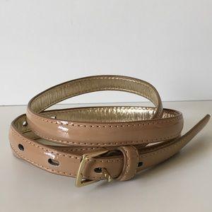 Accessories - ✨EUC✨ Patent Leather Belt