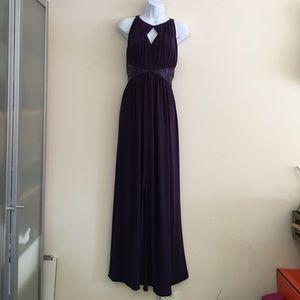 Plum Evening Gown 👠