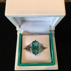 Jewelry - Teal-stone ring