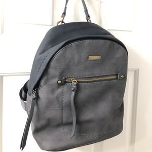 Handbags - NWT Mini Backpack Dark Grey/Black