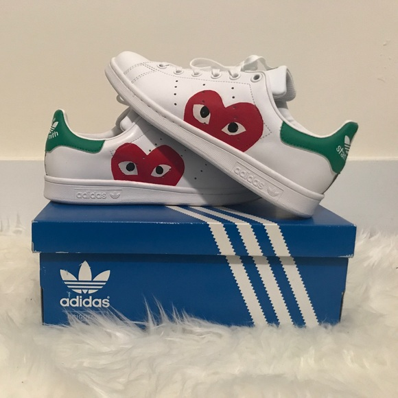 newest 343ab 05e1a adidas stan smith x comme des garcons