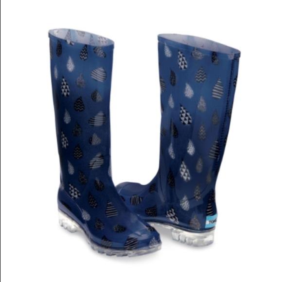 592f3fb13d3 Toms Womens cabrilla rain moonlight blue raindrop