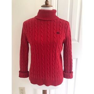 Chaps oversized Cableknit sweater