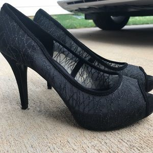 Nine West 3.5inch lace heels
