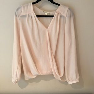Cream blouse small