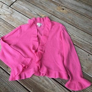Lilly Pulitzer Pink Cashmere Sweater