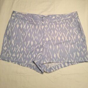 NWT Gap Ikat Blue Shorts