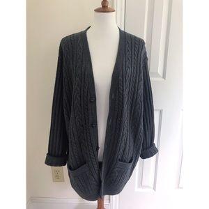 Nordstrom chunky oversized knit cardigan