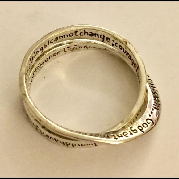 73 jewelry serenity prayer ring sterling silver