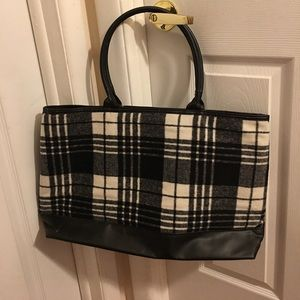 Handbags - Plaid tote