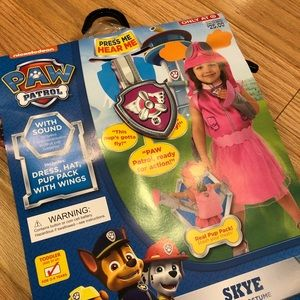 Other - Brand new Skye paw patrol costume.