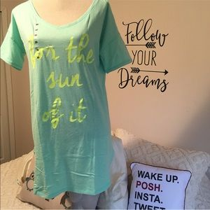 Victoria's Secret Nightshirt. For the Sun of It.