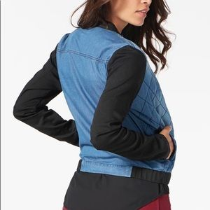 JustFab Jackets & Coats - Quilted Bomber Jacket