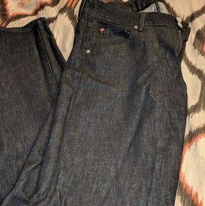 Like New! Hudson jeans in black size 30