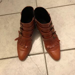 Modern Vice Jett Classic Booties--Brown Size 39