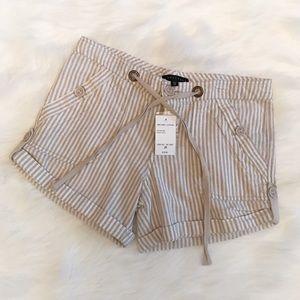 NWT Sanctuary Pinstriped Shorts