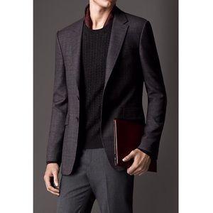 NEW Burberry Wool Suit Blazer