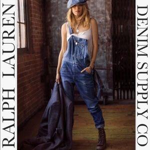 Ralph Lauren: Denim & Supply Co. Denim Overalls M