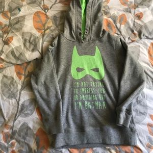Batman SweatShirt w/ hood