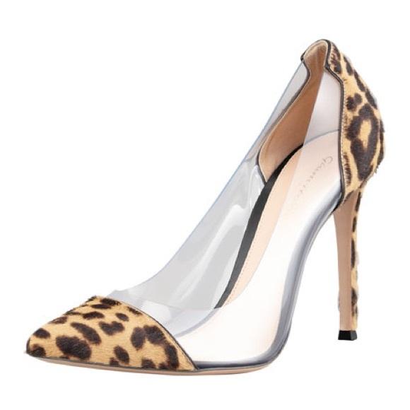 12cdd9e3be21 gianvito rossi Shoes - Gianvito Rossi Leopard PVC Pumps Heels 36 6