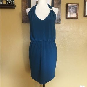 NWT Halter Cocktail Dress Betsy & Adam Size: 6